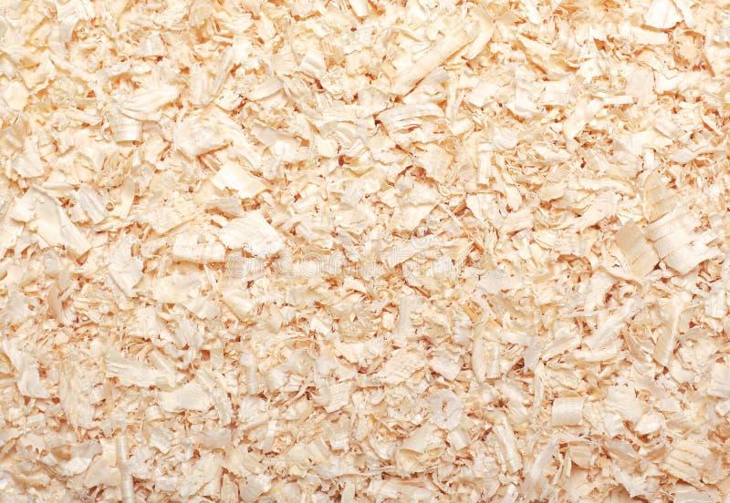 Drewnianej trocinowej tekstury tła materialny zbliżenie zdjęcia royalty free