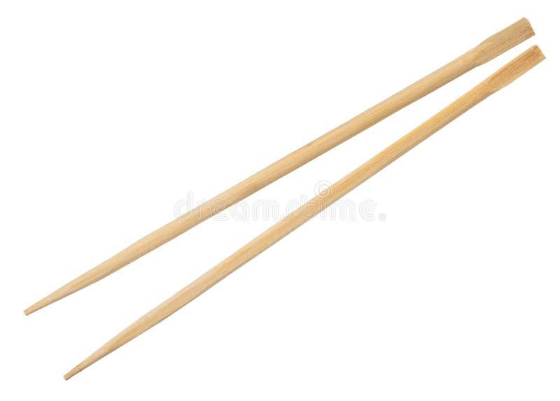 Drewniani Chińscy chopsticks zdjęcia royalty free