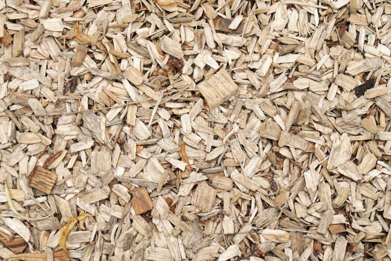 Drewniani golenia lub trociny fotografia stock