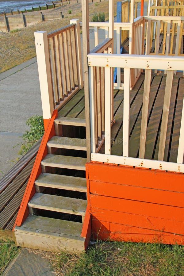 Drewniani kroki zdjęcie royalty free