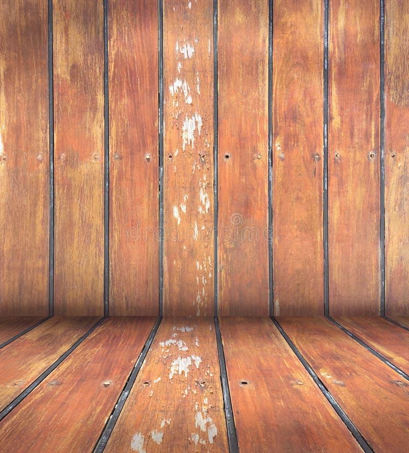 Drewniany ścienny dziedzictwa tła sztuki projekt obraz royalty free
