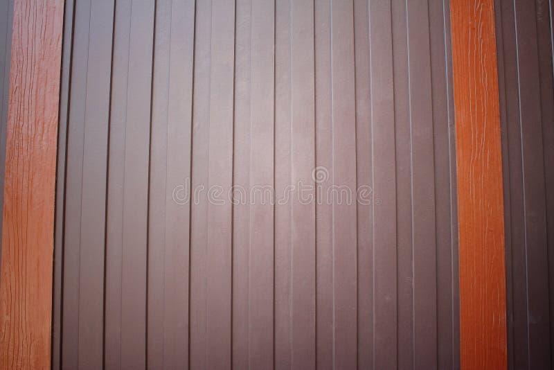 Drewniany ścienny tło zdjęcie stock