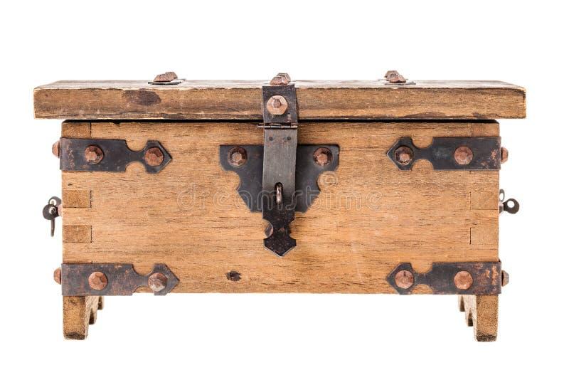 Drewniany średniowieczny kaseton obraz stock