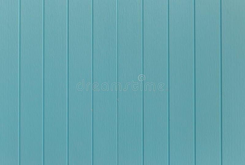 Drewniany błękitny tło błękitny Syntetyczny drewno ściany tekstury use dla tła Kolorowa drewniana deska malująca w błękicie zdjęcie stock