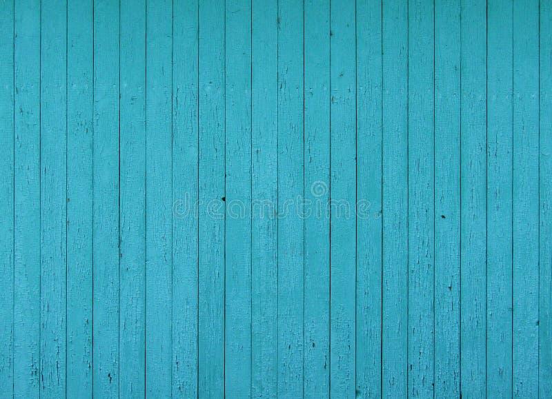 Drewniany błękitny tekstury tło fotografia stock