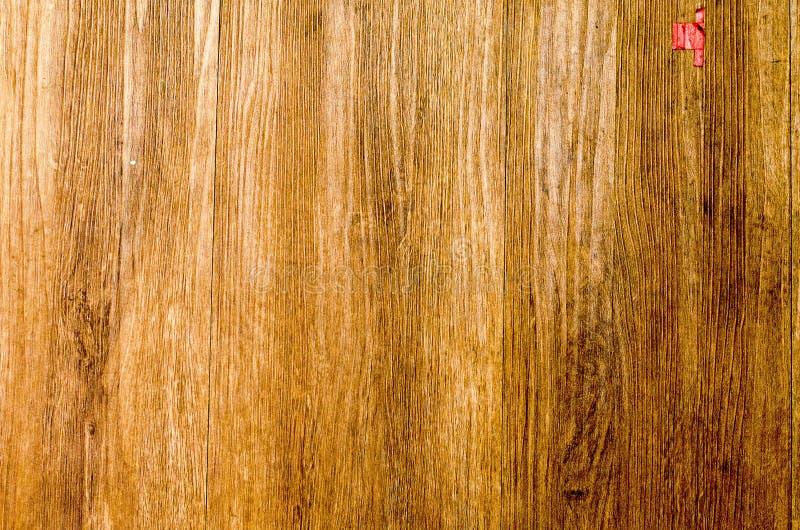 Drewniany brown deski tekstury tło zdjęcia stock