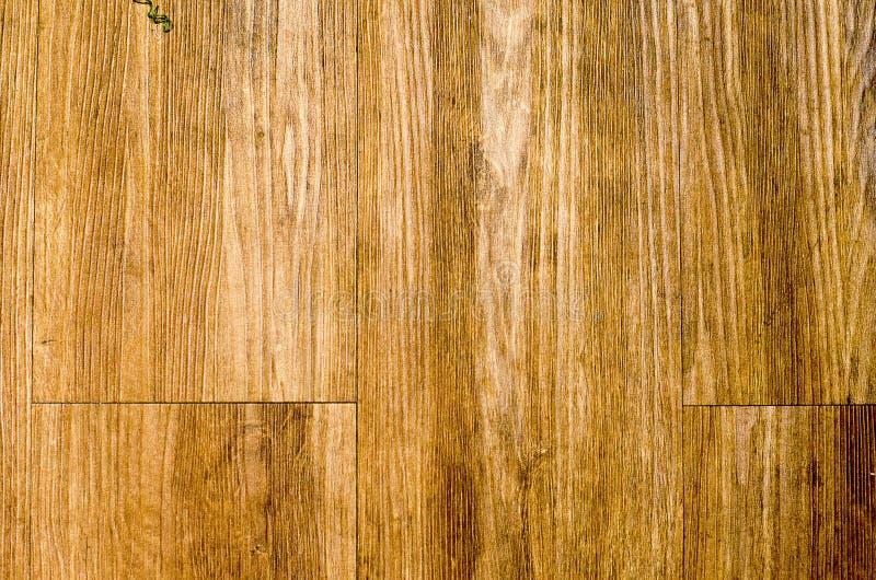 Drewniany brown deski tekstury tło obrazy stock