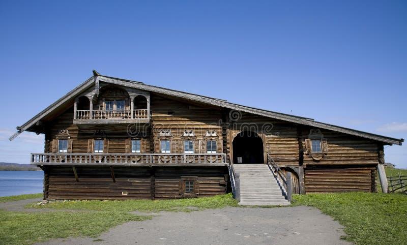 drewniany dom zdjęcie stock