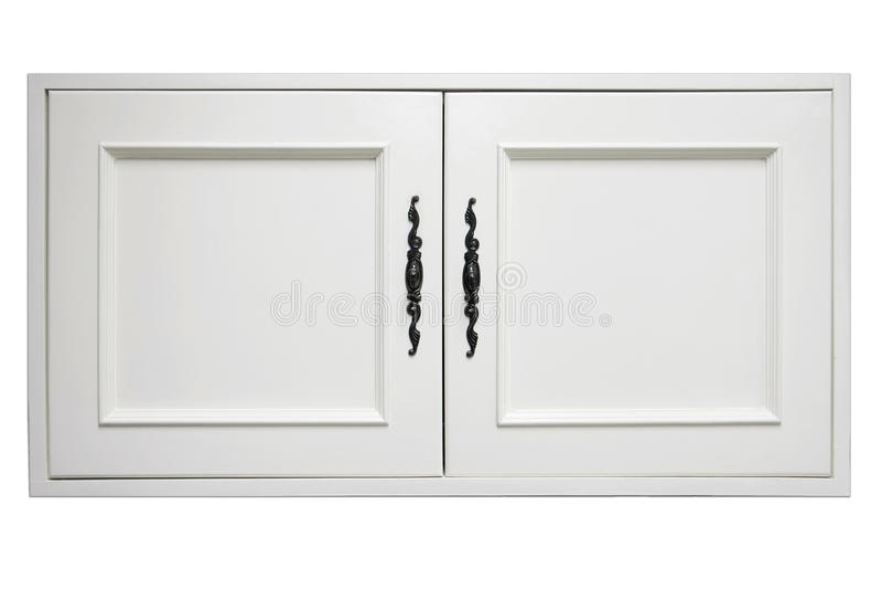 Drewniany drzwi spiżarnia zdjęcie stock