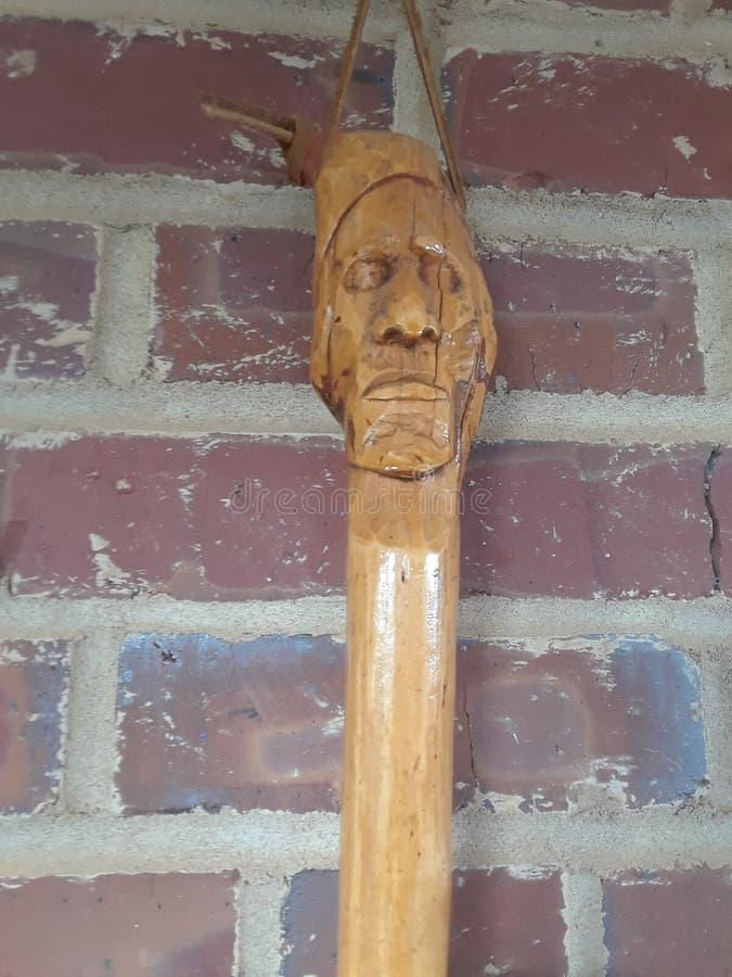 Drewniany duch fotografia stock