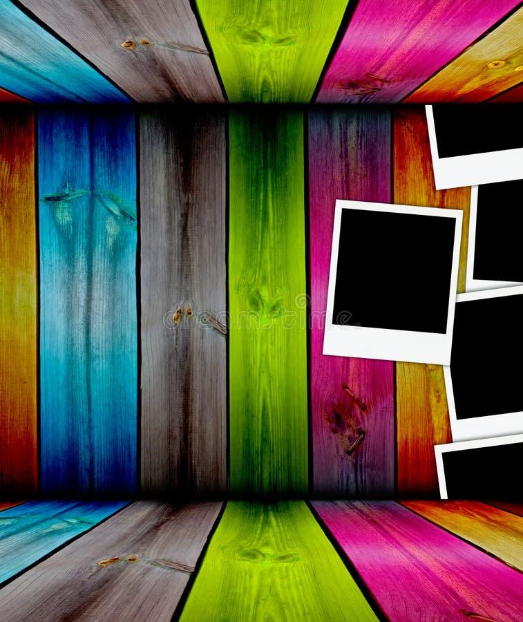 Download Drewniany fotografia pokój ilustracji. Ilustracja złożonej z chwila - 13326212
