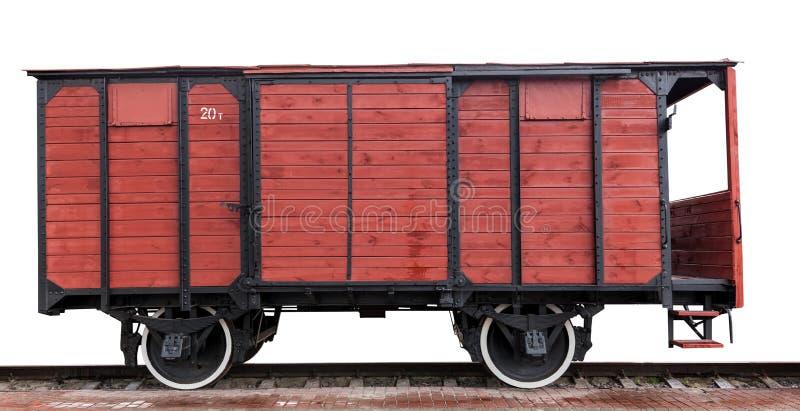 Drewniany furgon zdjęcia royalty free