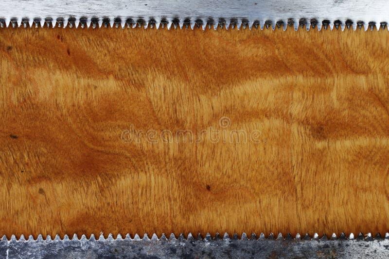 Drewniany i zobaczył ostrza, przemysłowy grunge abstrakta tło zdjęcie royalty free