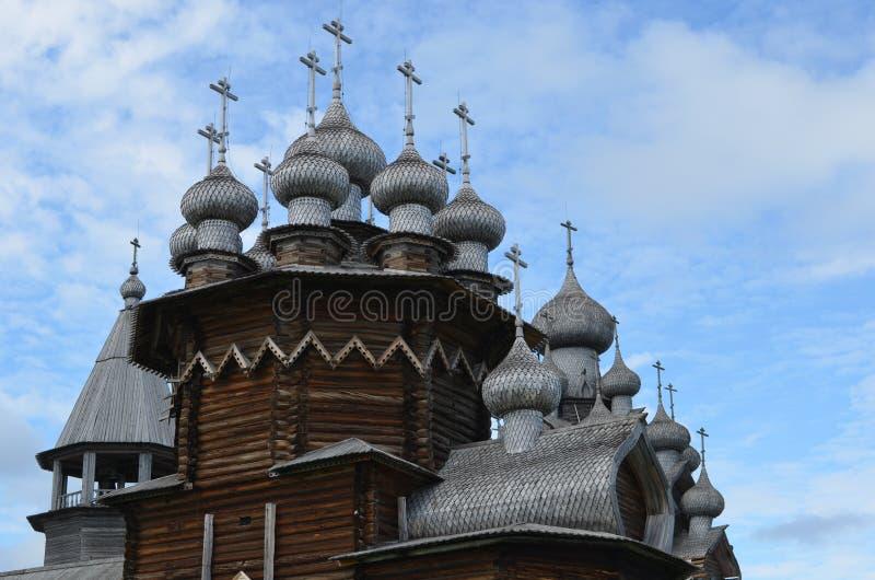 Drewniany Kizhi Pogost Karelia obraz stock