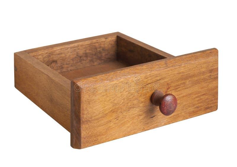 Drewniany klatka piersiowa kreślarz obrazy royalty free