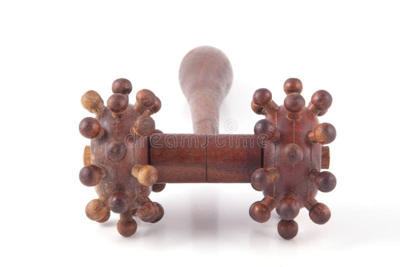Drewniany masażu narzędzie fotografia stock