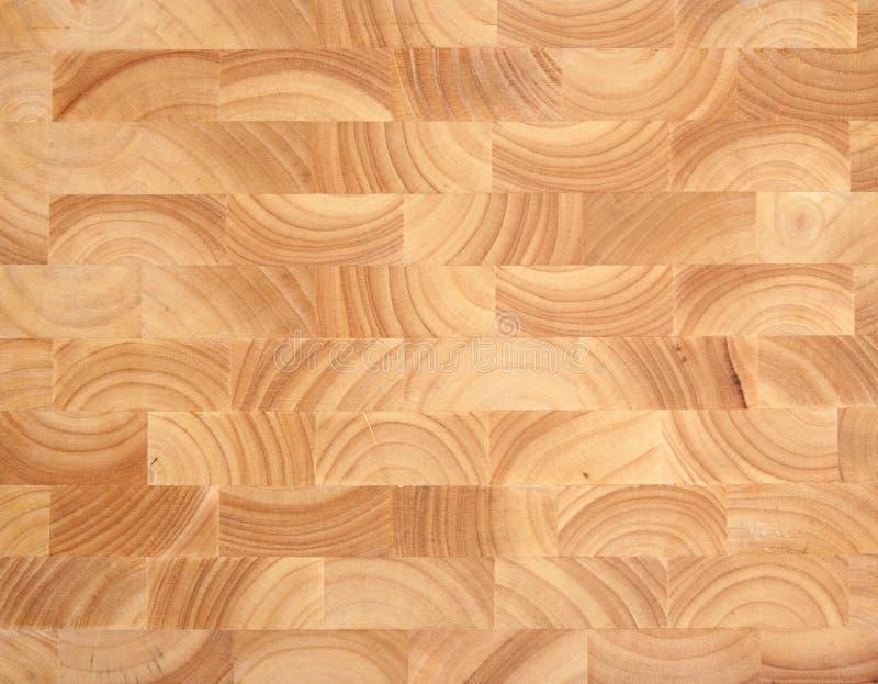 Drewniany masarka bloku tło zdjęcia stock