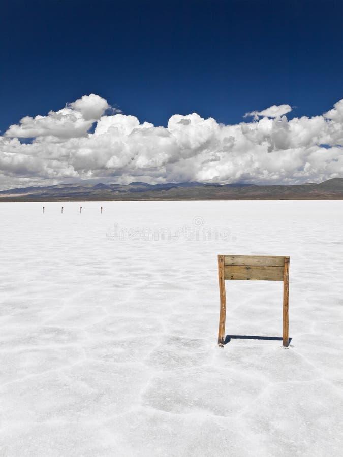 drewniany morze solankowy znak zdjęcia royalty free