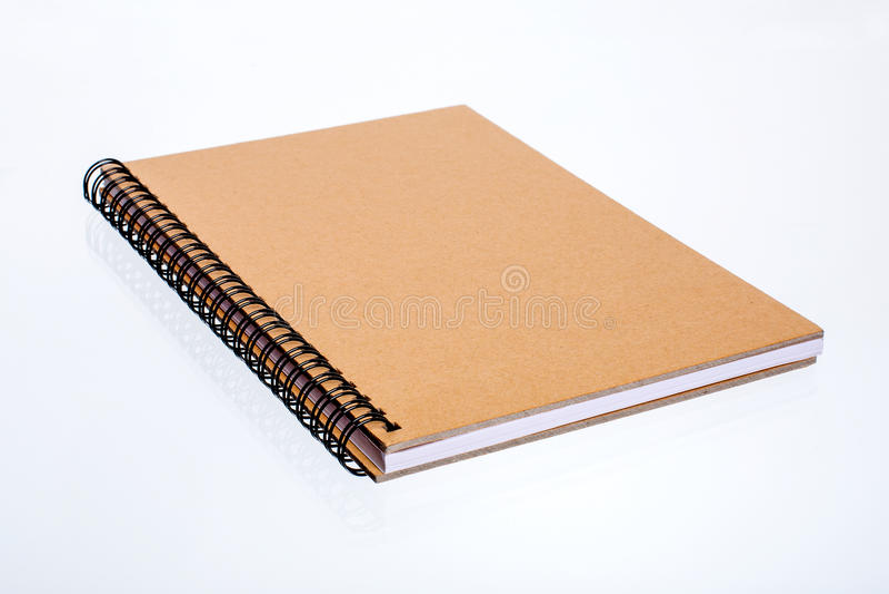 Drewniany notatnik zdjęcie stock