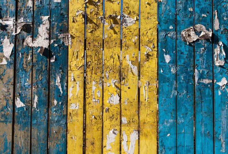 Drewniany Płotowy Tło Obraz Stock