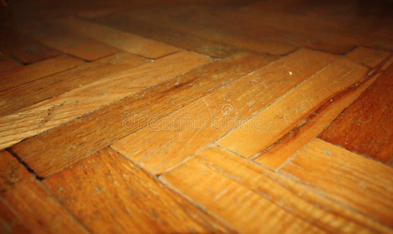 Drewniany parkietowy tekstury tło fotografia royalty free