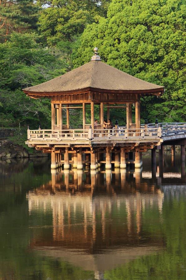 Drewniany pawilon zdjęcia royalty free