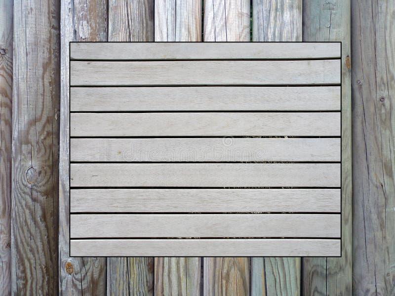 Drewniany pinboard zdjęcia royalty free