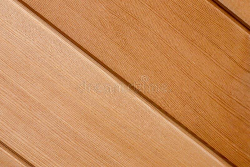 Drewniany pochylony wzór tekstury tło fotografia stock