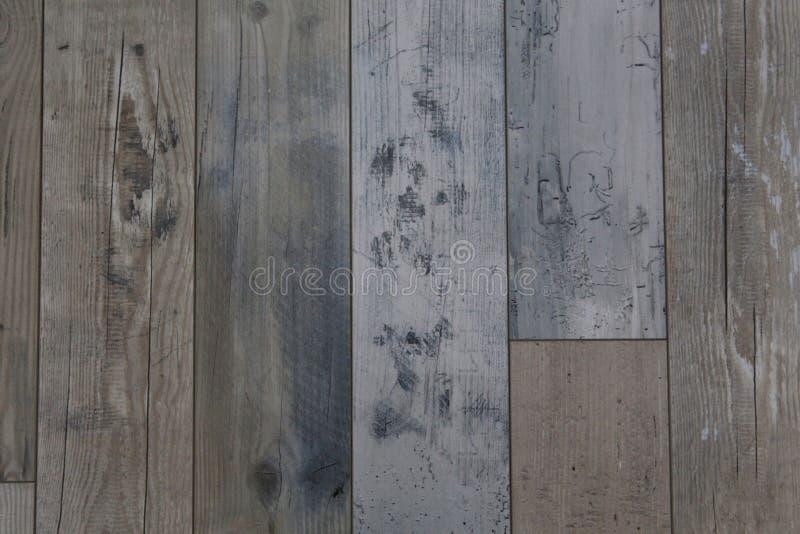 Drewniany podłogowy tło lub tekstura zdjęcia royalty free