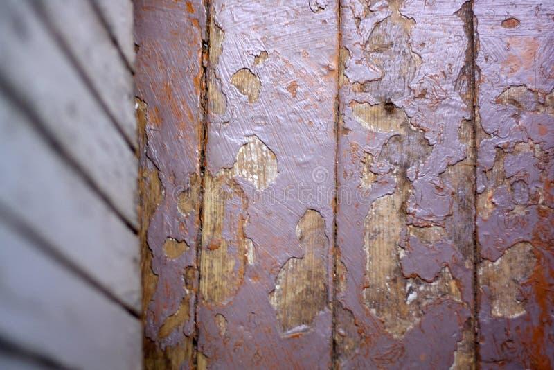 Drewniany podłogowy tło przy dniem obraz royalty free