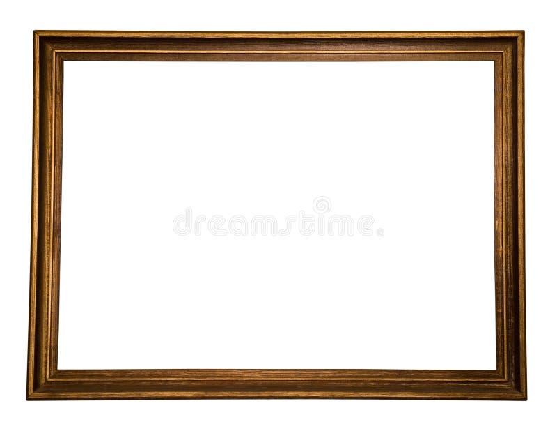 drewniany ramowy zdjęcie stock