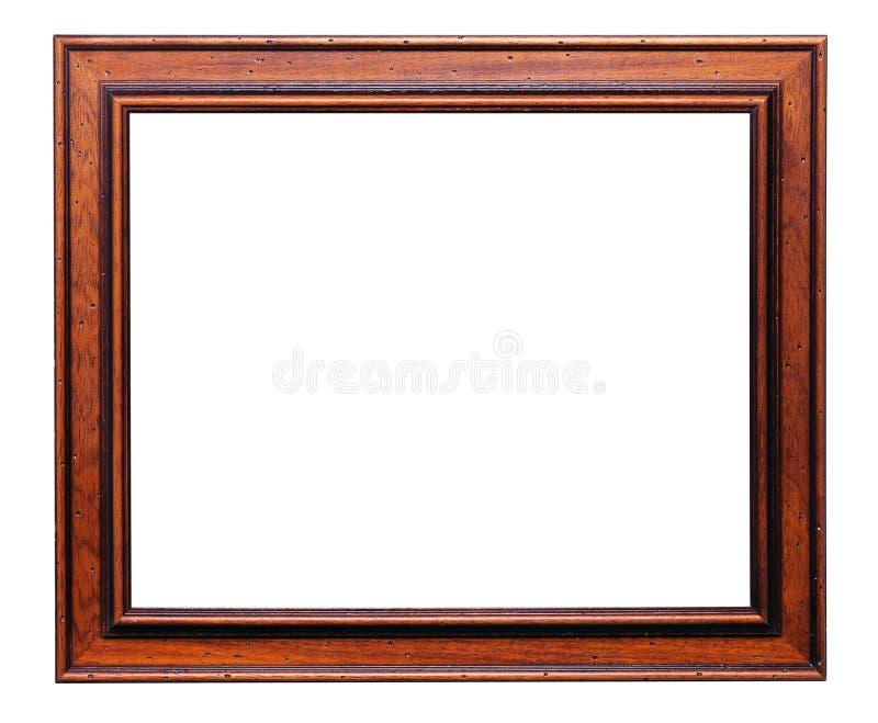 drewniany ramowy obraz zdjęcia stock