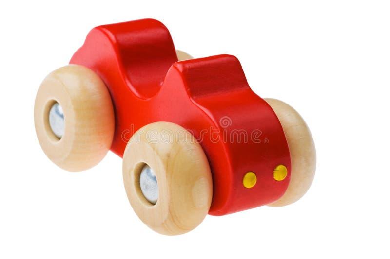 Drewniany samochód fotografia stock
