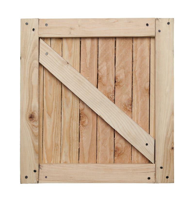 Drewniany skrzynka wierzchołek fotografia royalty free