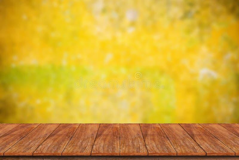 Drewniany stołowy wierzchołek zdjęcia royalty free