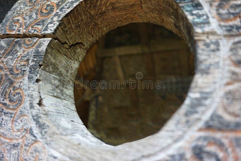 Drewniany szczegół zdjęcia stock