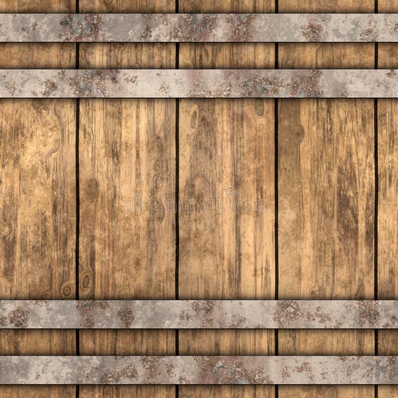 Drewniany tło ilustracji