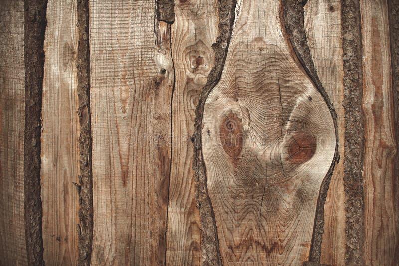 Drewniany tło alaska kolor wieczorem do późna w zakresie obraz stock