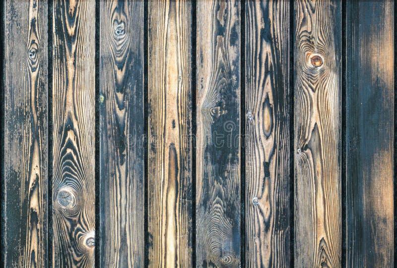 Drewniany tekstury tło, brown drewnianej tekstury abstrakcjonistyczny tło, orzecha włoskiego drewno Ciemny drewniany deski tło, w zdjęcia stock