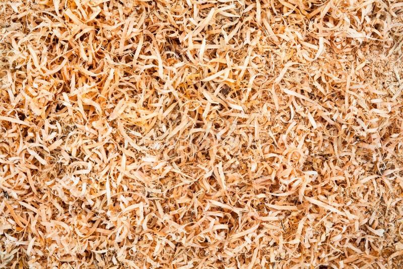 Drewniany trociny zdjęcie stock