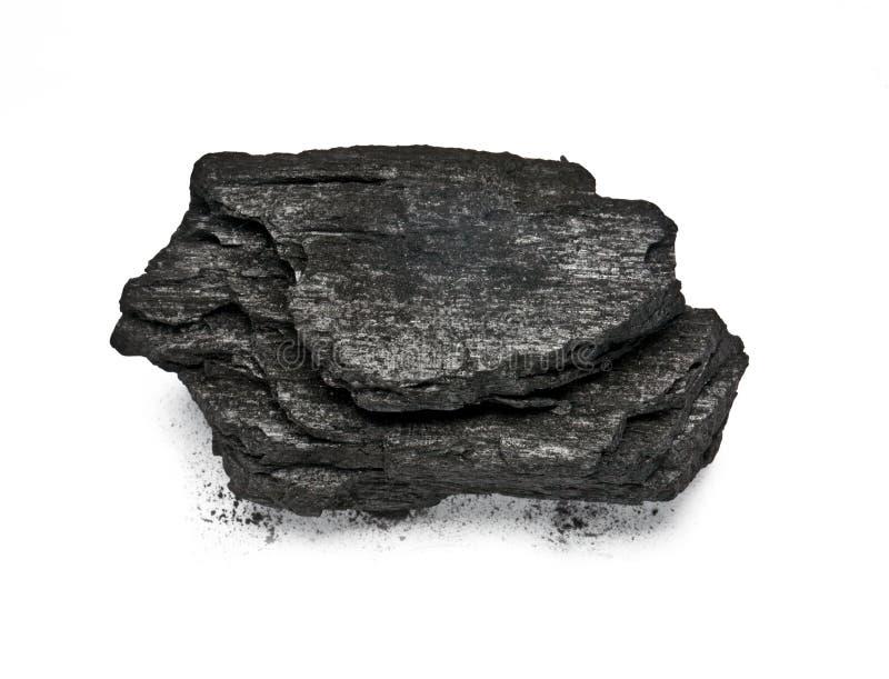 Drewniany węgiel obrazy stock