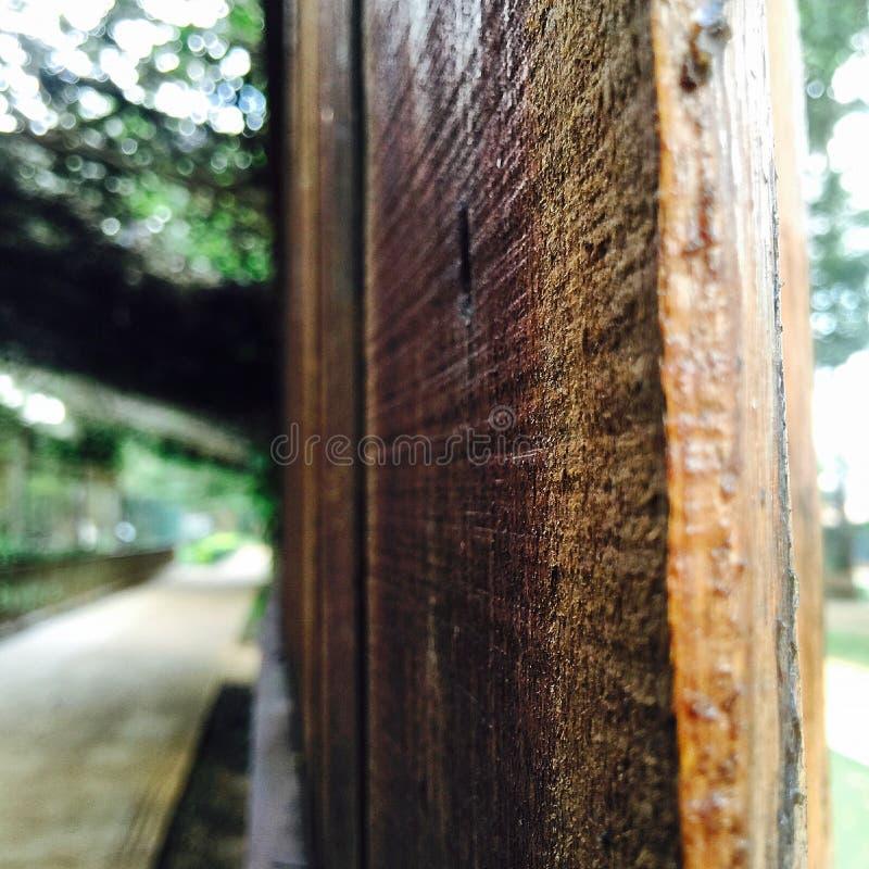 Drewniany widok zdjęcia royalty free