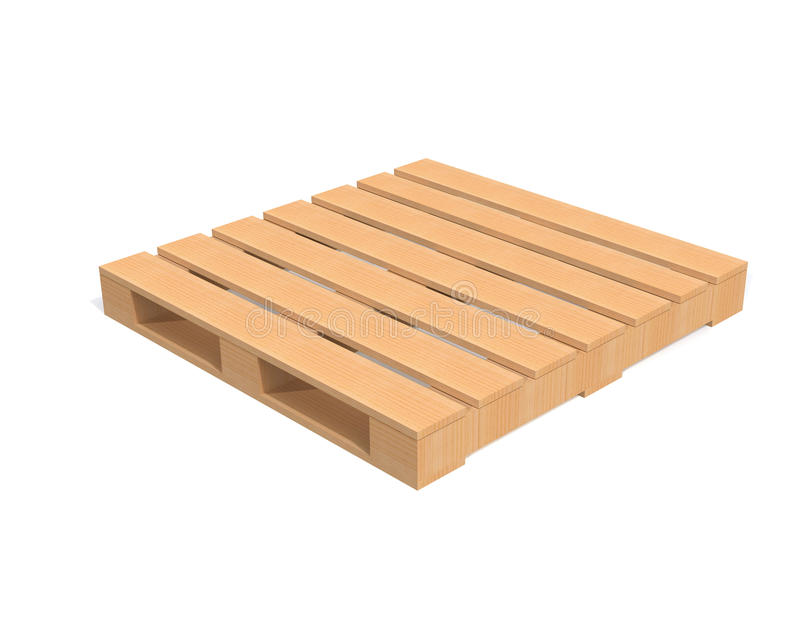 Drewniany Wysyłka Barłóg Obrazy Stock