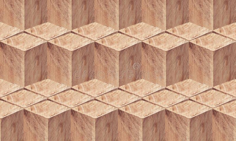 Drewnianych bloków złożony tło zdjęcia royalty free