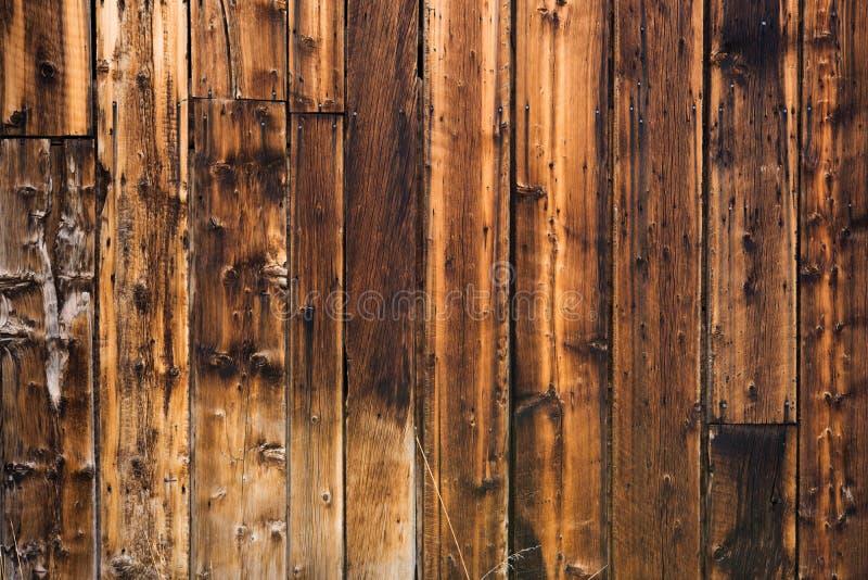 Drewnianych desek Ścienny tło obrazy royalty free