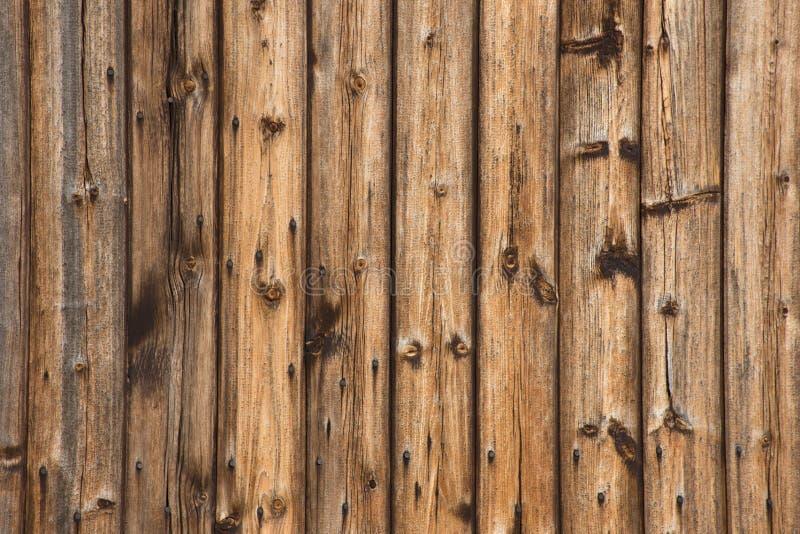 Drewnianych starych desek płotowy tło obraz stock