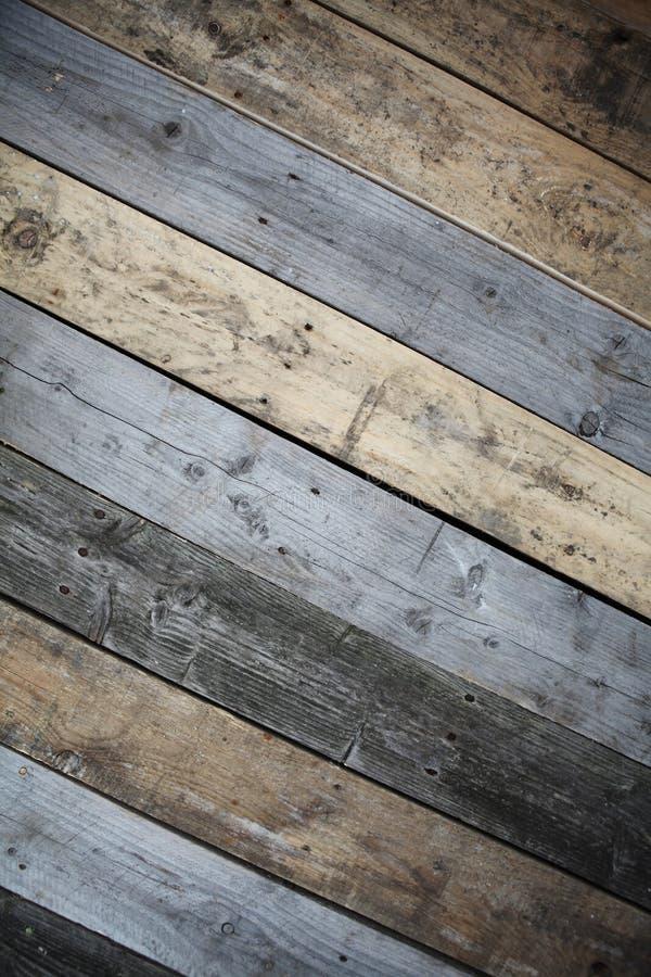 Drewno ściana Dekoracja dla domu obraz stock