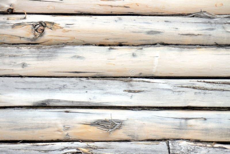 Drewno fotografii ścienny tło, brązów lampasy fotografia royalty free