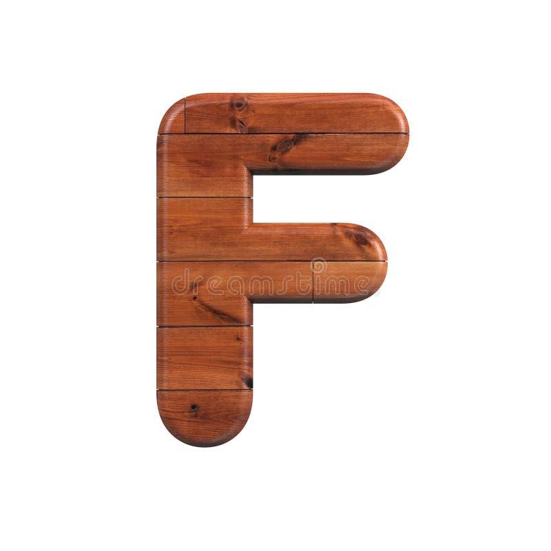 Drewno listowy F stosowny dla natury, ekologii lub dekoracja odnosić sie tematów, - skrzynki 3d deski drewniana chrzcielnica - ilustracja wektor