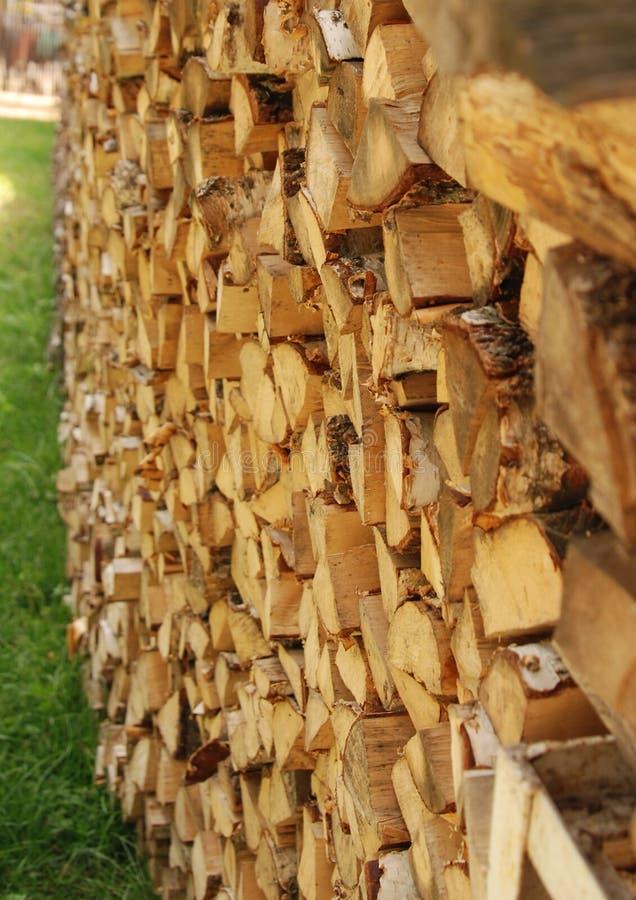drewno opałowe zdjęcia royalty free